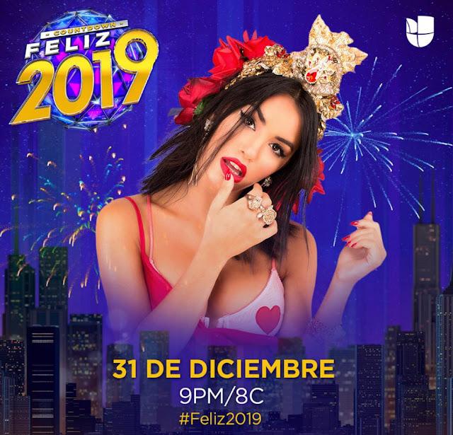 Lali se presentará en el mítico Countdown #Feliz2019 de Univisión en el Times Square de Nueva York