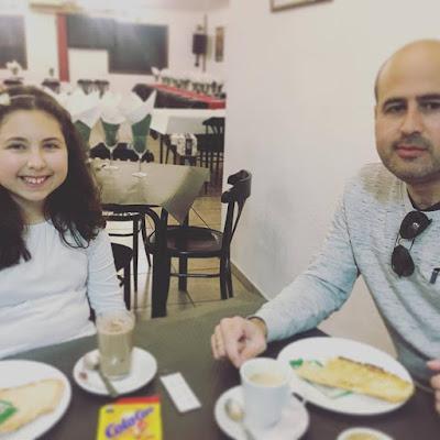 día del padre, julian y alejandra, el mejor padre, la mejor hija, san jose, padre e hija,
