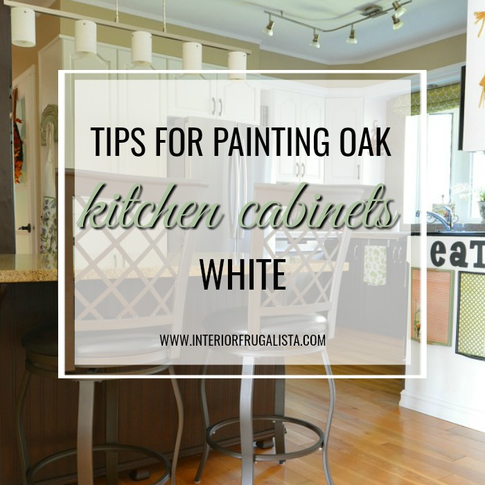 Painting Kitchen Oak Cabinets White
