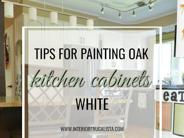 Helpful Tips For Painting Kitchen Oak Cabinets White