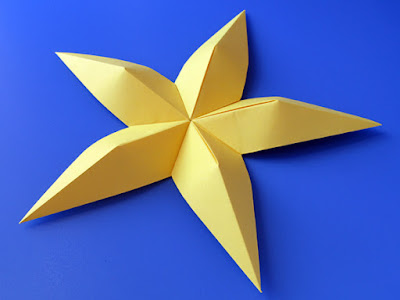 origami Stella convessa - Convex star © by Francesco Guarnieri