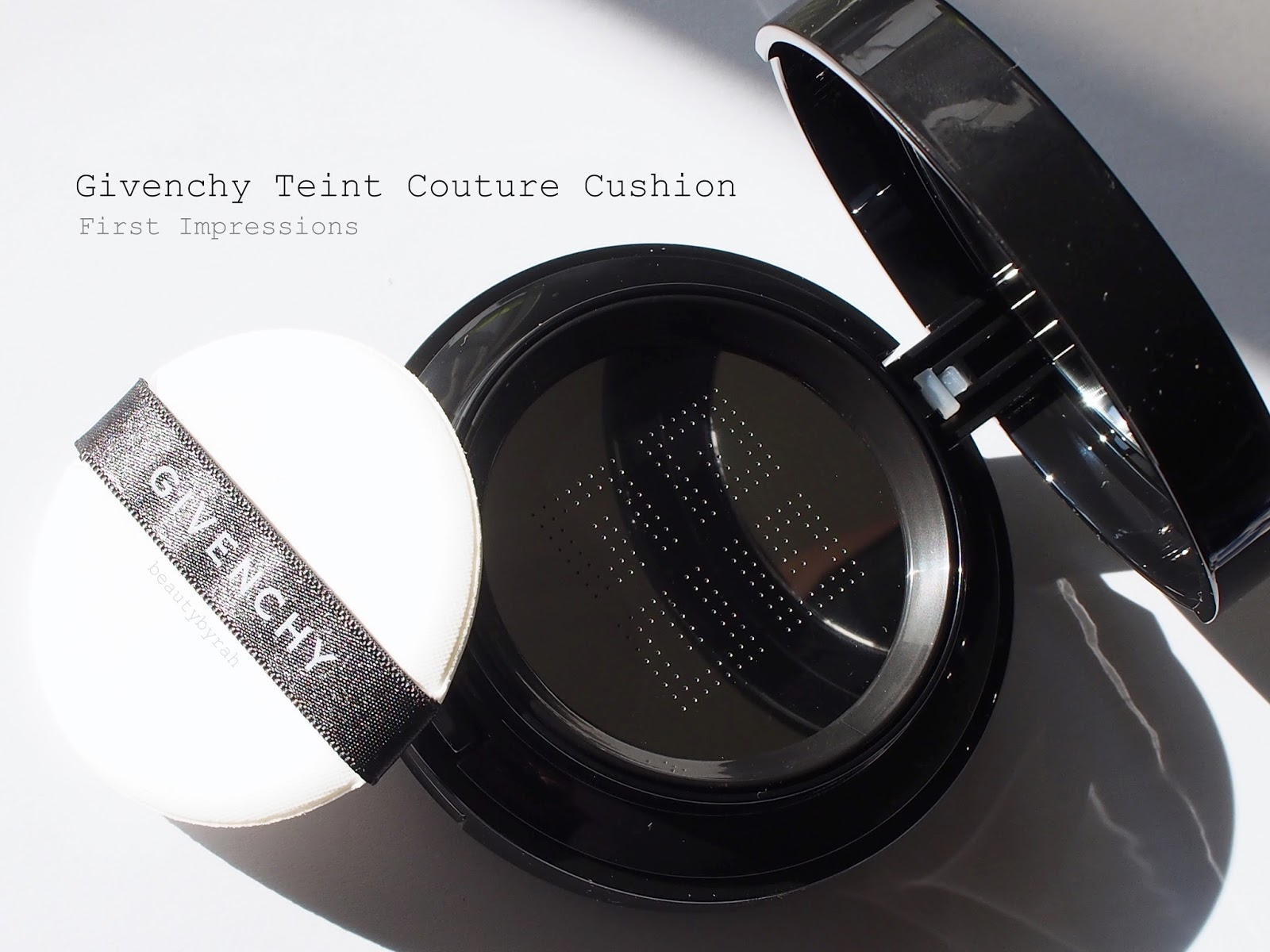 Givenchy's Teint Couture Cushion in #4 Fresh Beige Review