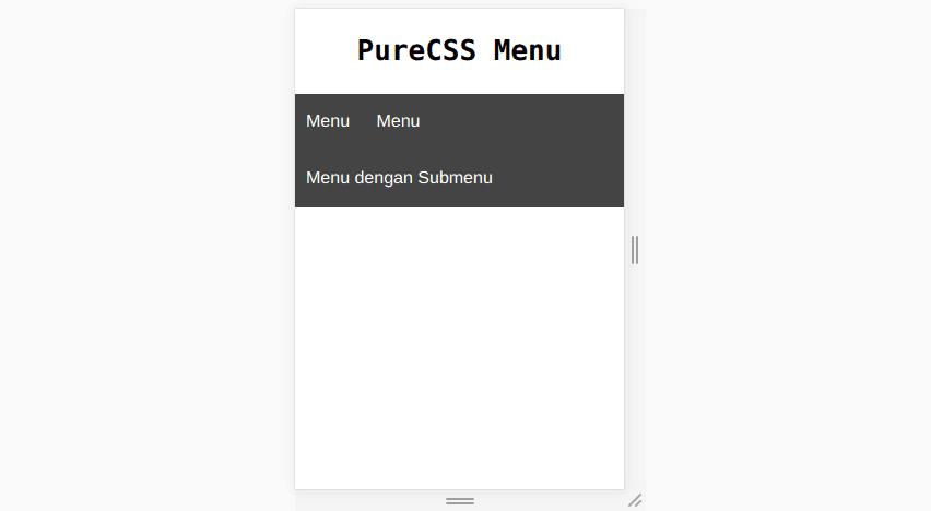 cara membuat menu dan submenu dengan mudah dan simple
