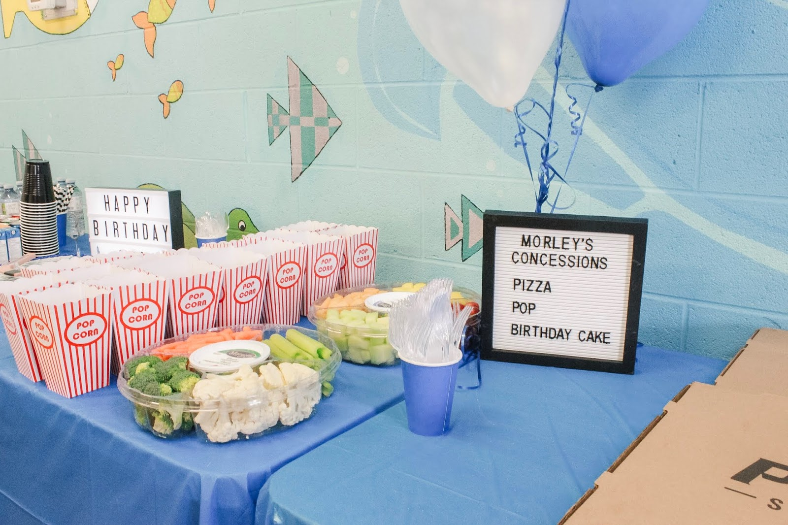 Hockey Themed Kids Birthday Party