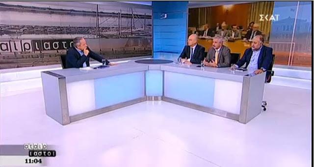 Ο Γ. Μανιάτης στον  ΣΚΑΪ, για αποζημιώσεις συνταξιούχων, έρευνες Υδρογονανθράκων στην ΑΟΖ της Κύπρου, επιθέσεις κατά Βουλευτών, κ.ά.