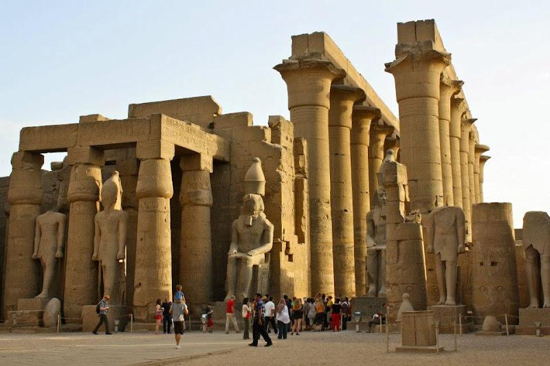 Luxor egypt east bank
