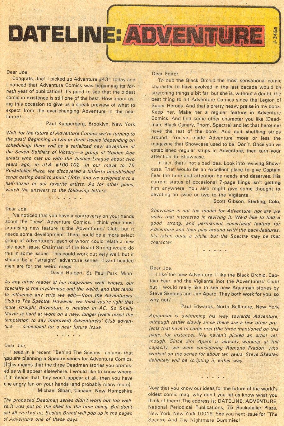 Read online Adventure Comics (1938) comic -  Issue #433 - 25