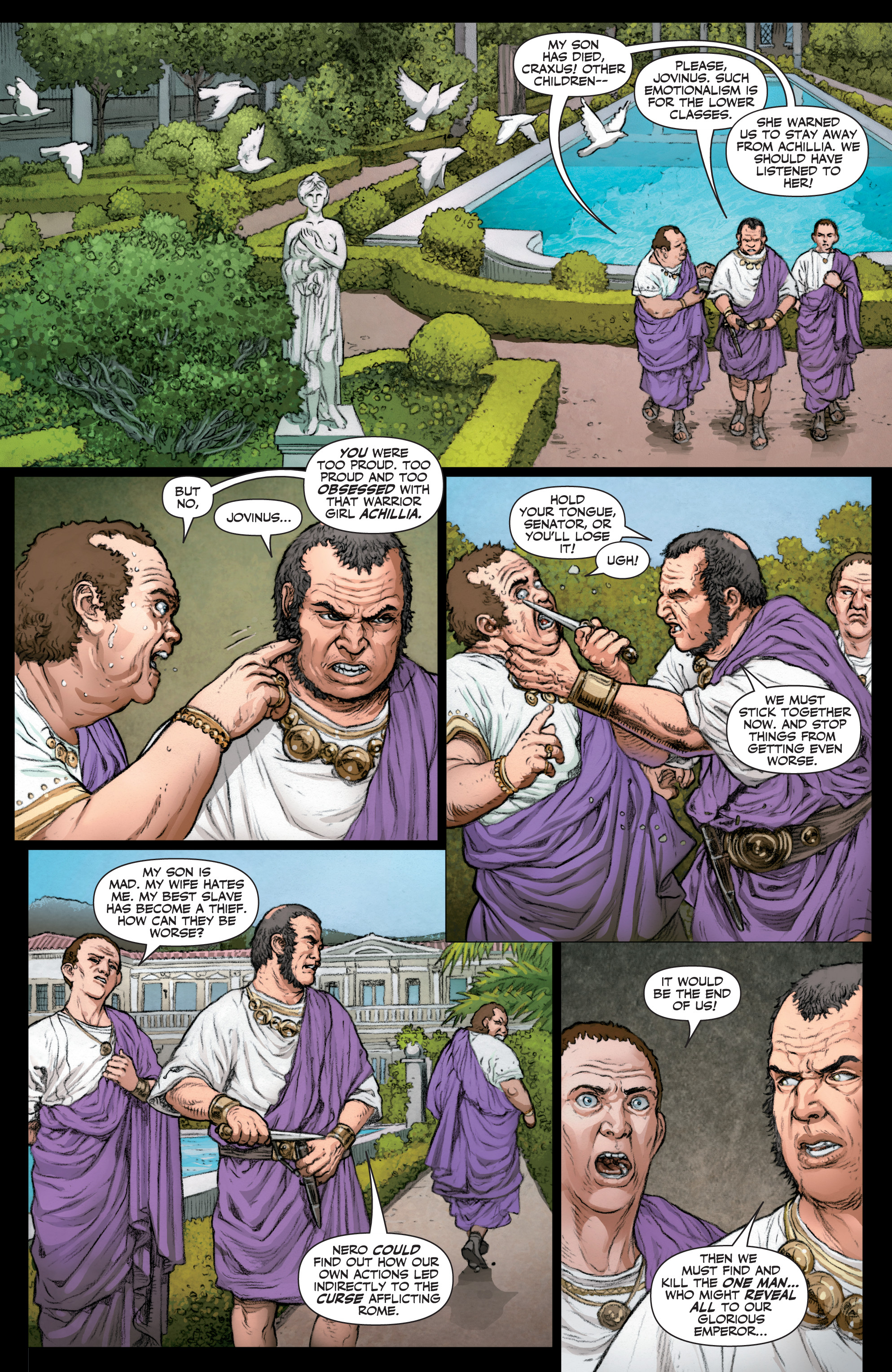 Read online Britannia: We Who Are About To Die comic -  Issue #3 - 16
