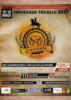 I Cervezada Trujillo Feria dorado y en botella