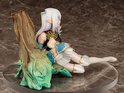 "Figuras: Imágenes de  Altina, Elf Princess of the Silver Forest del videojuego ""Blade Arcus From Shining EX"" - AQUAMARINE"