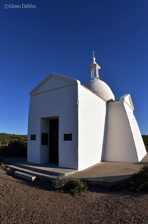 Chapel at Bird Island in Peníunsula Valdes