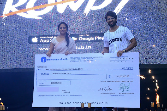Actor Vijay Deverakonda auctions Filmfare award for Rs 25 Lakh Launched his clothing line Rowdy Wear