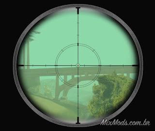 gta sa san mod cleo sniper distance fix distância tiro