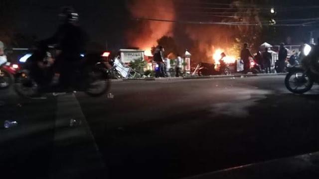 Proses Hukum Dinilai Lamban, Sejumlah Oknum TNI Membakar Polsek Ciracas