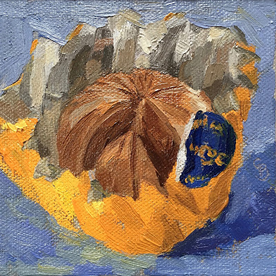 #53 'Terry's Chocolate Orange' 4×4″