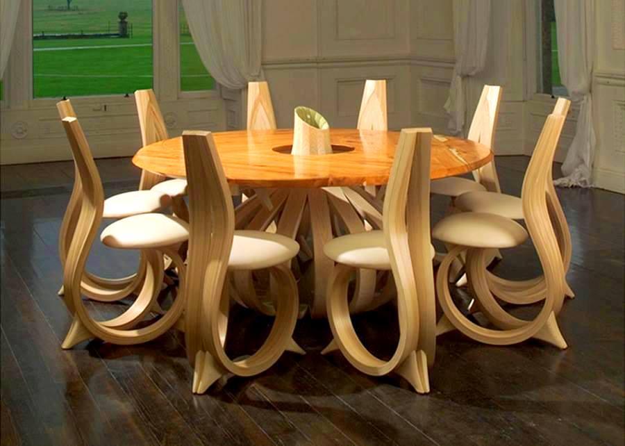 Dekorasi Ruang Dengan Kerusi Dan Meja Melalui Idea Rekaan Kreatif