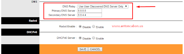 Cara Setting DNS Pada Modem TP-Link