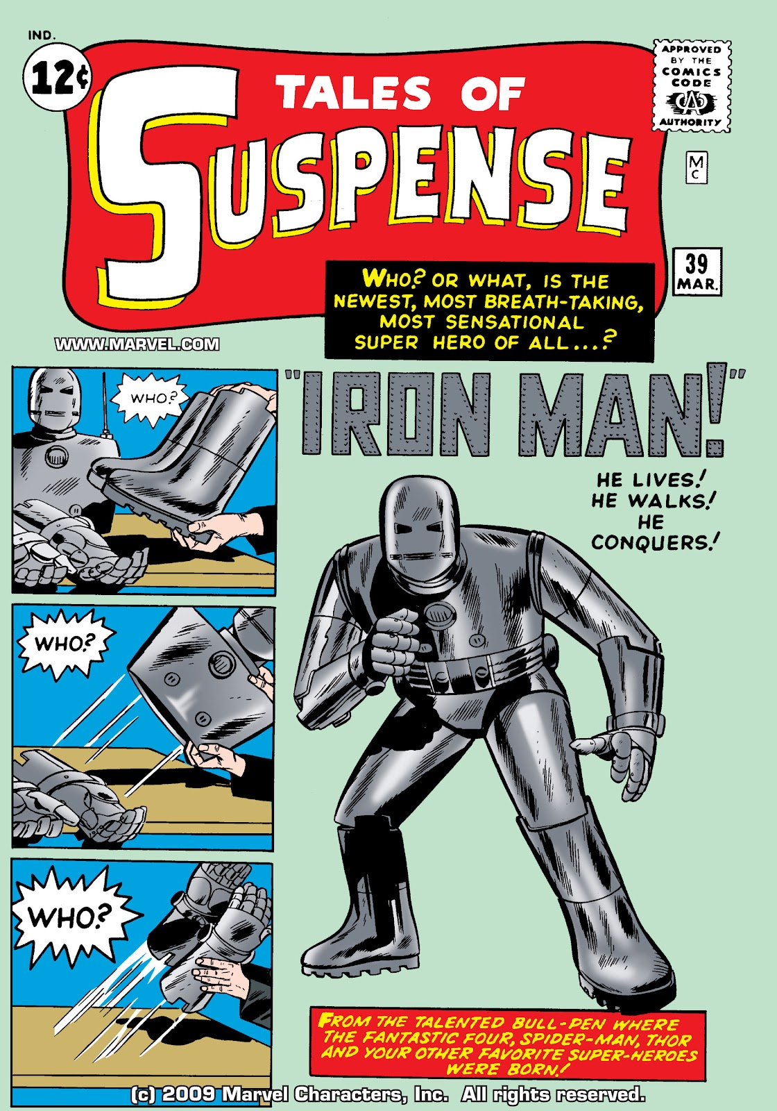 Tales of Suspense (1959) issue 39 - Page 1