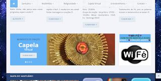 www.padremarcelorossi.com.br Rede Wi-fé Vela Virtual Como Acender?