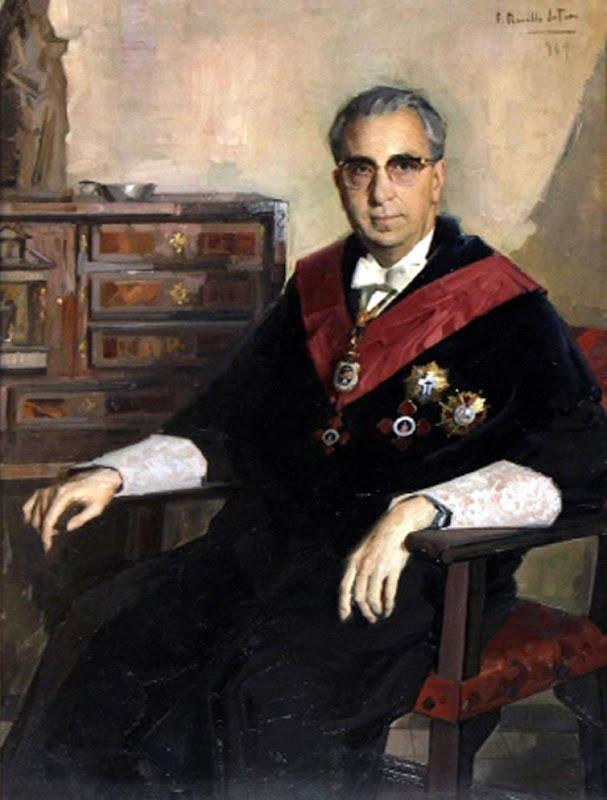 F. Garcia del Valle-Casas Santamaria, Félix Revello de Toro, Revello de Toro, Pintores Malagueños, Retratos de Revello de Toro, Pintor español, Pintores de Málaga, Pintor Revello de Toro