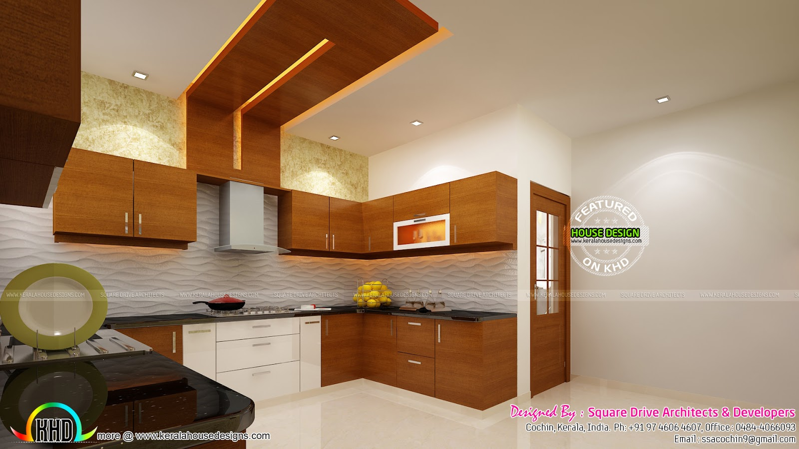 Sweet interior designs kerala home design and floor plans for Modern kitchen designs in kerala