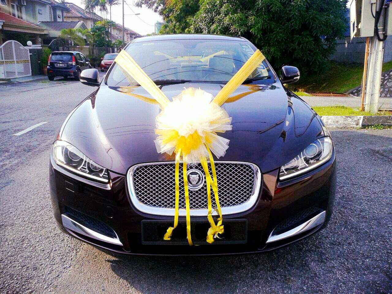 Redorca Malaysia Wedding And Event Car Rental Jaguar Xf With Gold