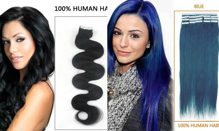 Alongamento de cabelo com fita adesiva, Take in Hair Extension