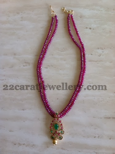 Ruby Beads Set For Kids Jewellery Designs