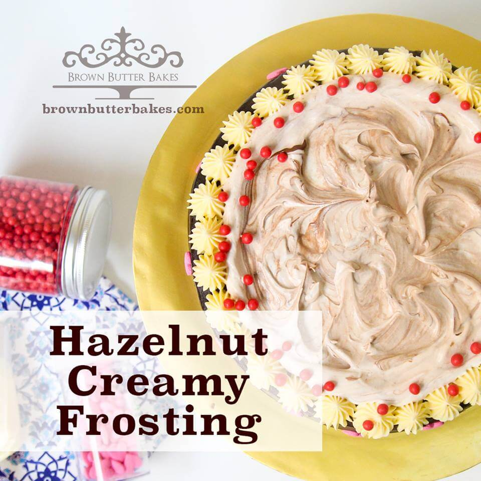 Creamy Hazelnut Frosting Resepi viral