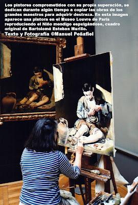 Fotografía Manuel Peñafiel Museo Louvre
