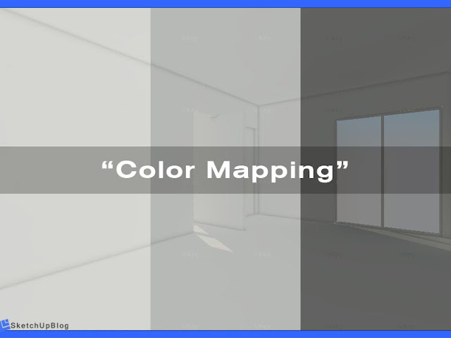 Tutorial Color Mapping vray sketchup