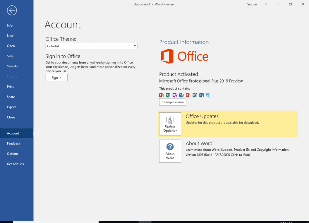 office professional plus 2019 product key free