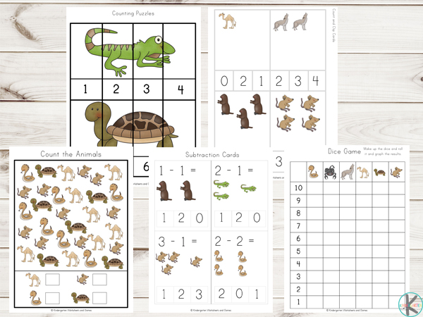 Desert-Animals-Printables-Math