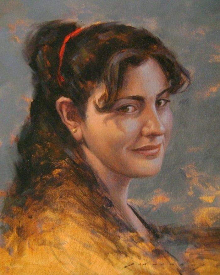 Турецкий художник. Fatih Karakas