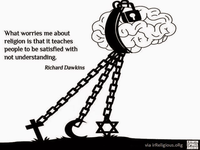Richard Dawkins Religion Not Understanding Quote Meme Picture