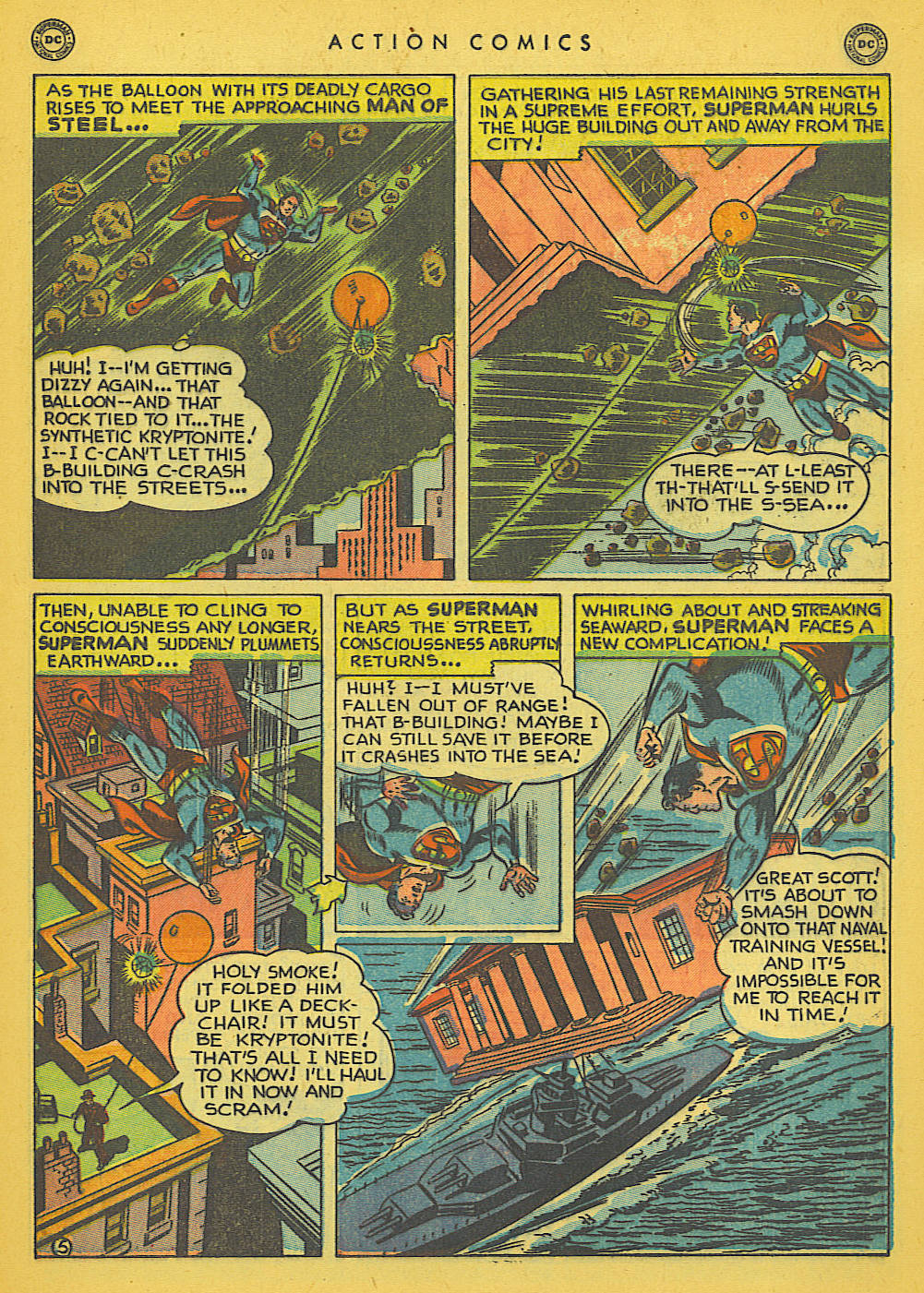 Read online Action Comics (1938) comic -  Issue #142 - 6