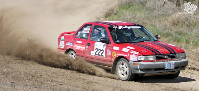Nissan Sentra SE-R Rally Car