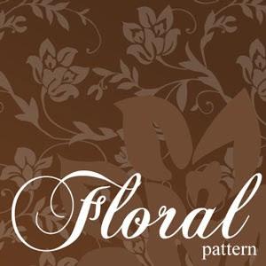 باترن فلورال للفوتوشوب Floral pattern