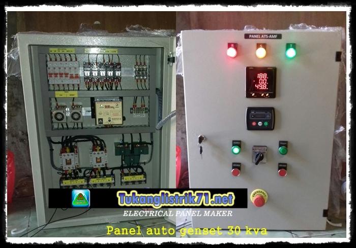 Harga Panel Auto Genset 30 Kva