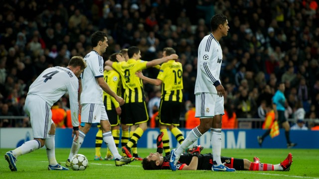 SCTV online streaming Dortmund vs Madrid live score