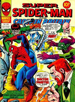 Super Spider-Man and Captain Britain #249, Dr Faustus