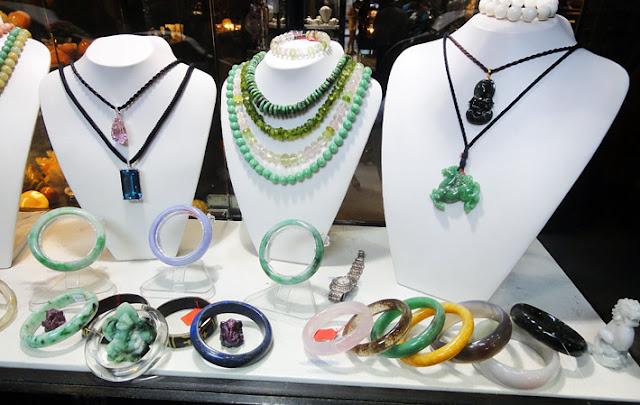 KL jade shop at central market