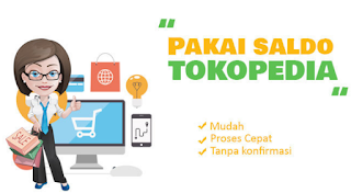 Cara Menggunakan Saldo Tokopedia Untuk belanja online