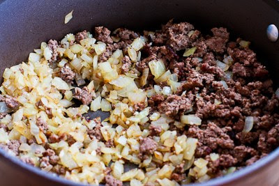 Better-than-Mom's Stovetop Goulash with Macaroni, Tomatoes, and Ground Beef found on KalynsKitchen.com