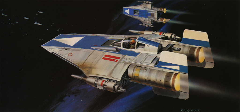 20 Star Wars Return Of The Jedi Concept Art Illustrations
