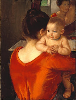 Мэри Кассат Mary Cassatt;  Mother and Child