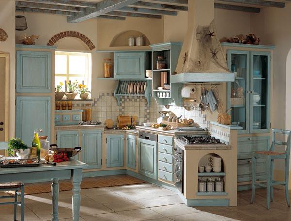 Decorar una cocina country colores en casa - Decorar una cocina ...