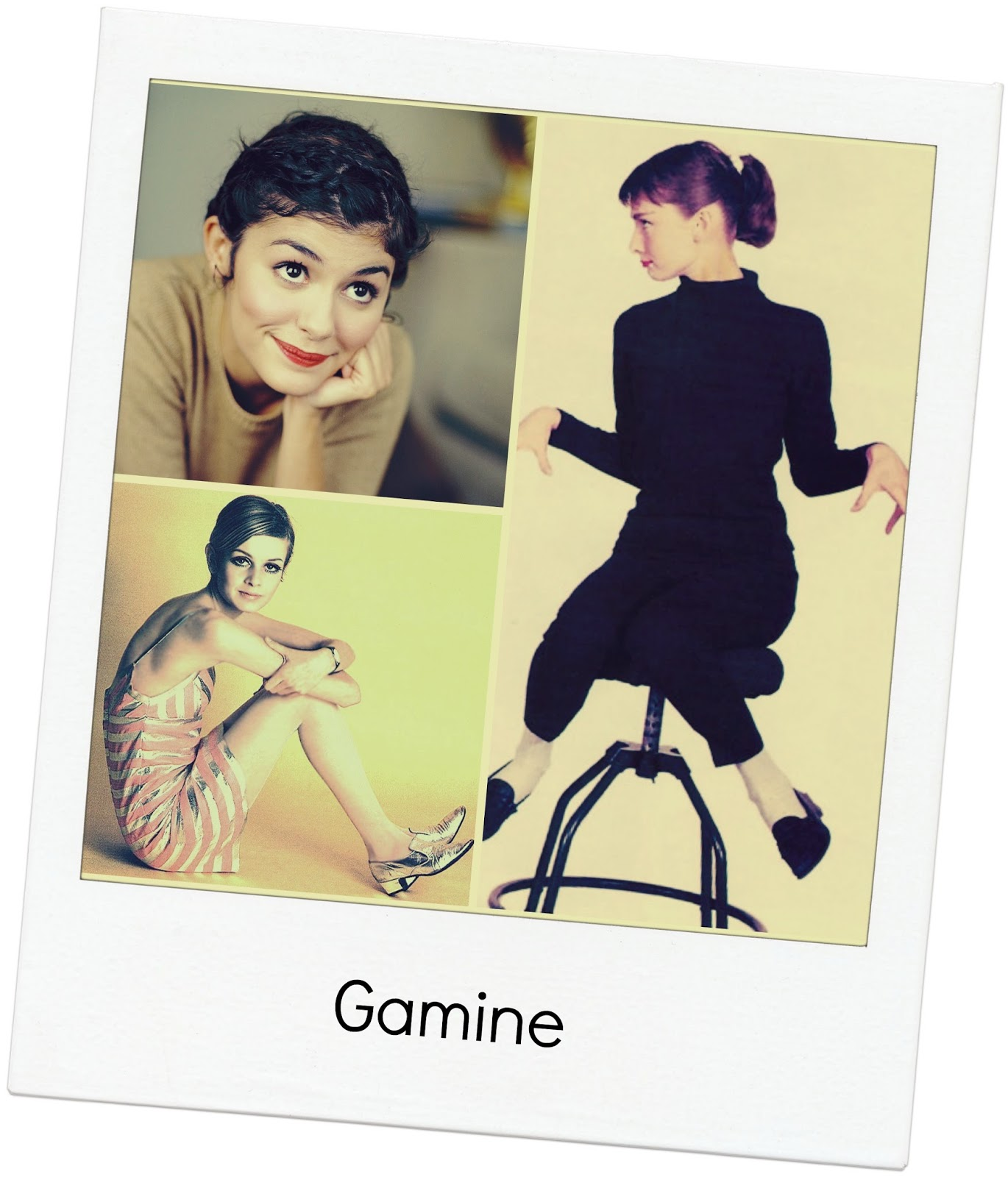 Gamine Secondaries ~ expressing your truth closet