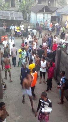 University of Uyo hostel gutted by fire [PHOTOS]