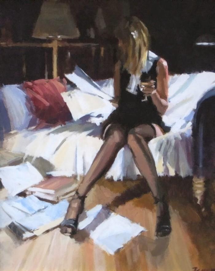 Британский художник. David Farrant
